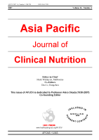 Asia Pacific Journal of Clinical Nutrition