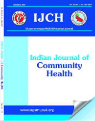 Indian Journal of Community Health