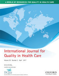 International Journal for Quality in Health Care