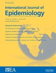 International Journal of Epidemiology