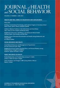 Journal of Health and Social Behavior cover