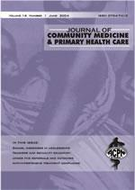 Journal of Community Medicine and Primary Health Care