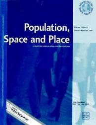 Population, Space and Place