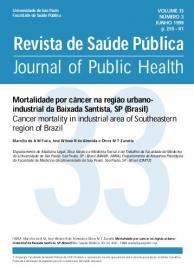Revista de Saude Publica